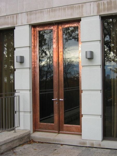 double_copper_door